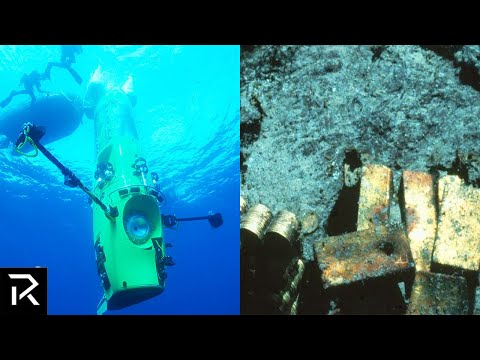 Diving Robot Finds $22 Billion In Sunken Gold