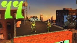 Прохождение игры   TMNT Черепашки Ниндзя 11 О где же ты брат
