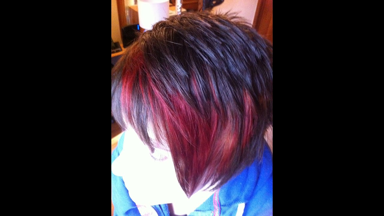 How To Add An Injection Of Firey Red To A Short Hairstyle With A