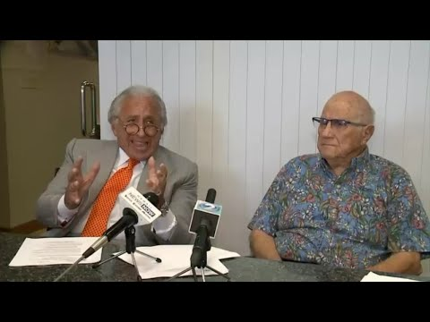 Souki and his attorney holding news conference on resignation