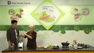 Chương trình dạy nấu món mắm chay. Thực hiện bởi Trung tâm Diệu Phá...