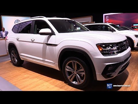 2019 Volkswagen Atlas V6 SEL - Exterior and Interior Walkaround - 2019 New York Auto Show