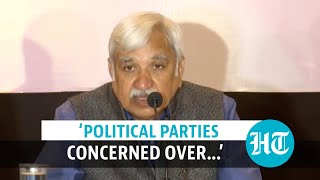 'Parties concerned over law & order situation': CEC Arora on West Bengal polls