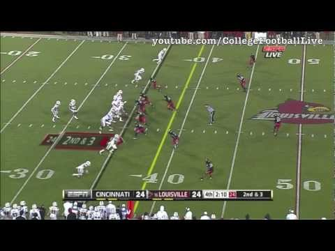 Louisville QB Teddy Bridgewater Vs Cincinnati ᴴᴰ