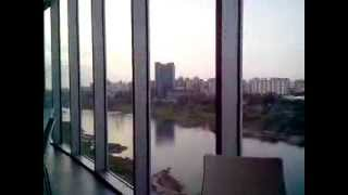 Pune City river view buildings and it parks Kalyani nagar and koregaon park