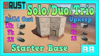 Rust 3.2 Solo/Duo/Trio Starter Base Design
