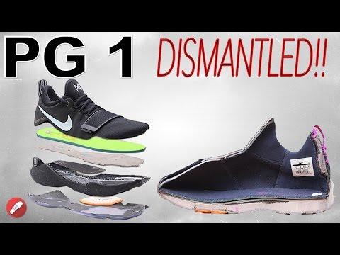 Nike Paul George 1 (PG1) DISMANTLED!