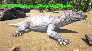 Download lagu Ark Survival Evolved Megalania Taming Guide MP3