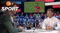 """Kimmich:""""Neuer ist die unangefochtene Nummer 1""""   das aktuelle sportstudio - ZDF"""