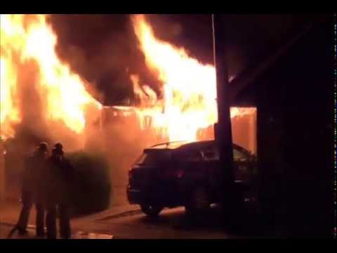 Structure Fire with Fireground Radio Traffic - Irvine, California - 9/5/14 (Part 1)