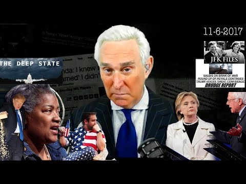 Roger Stone Discusses Donna Brazil, Seth Rich, Bernie Sanders, Hillary Clinton Trump Current Events