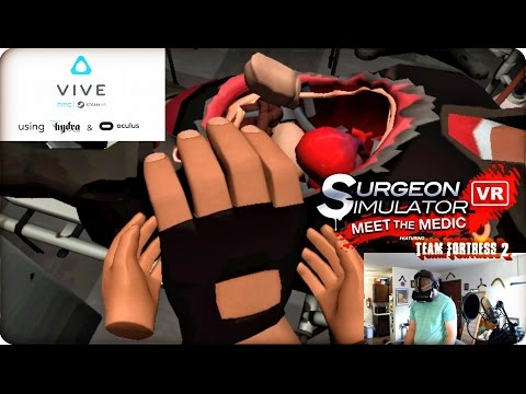 Surgeon Simulator VR Meet the Medic! w/ Razer Hydra & Oculus Rift