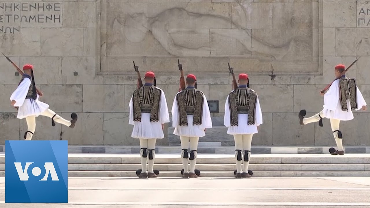 Streets of Athens Empty on Orthodox Easter Amid Coronavirus Lockdown