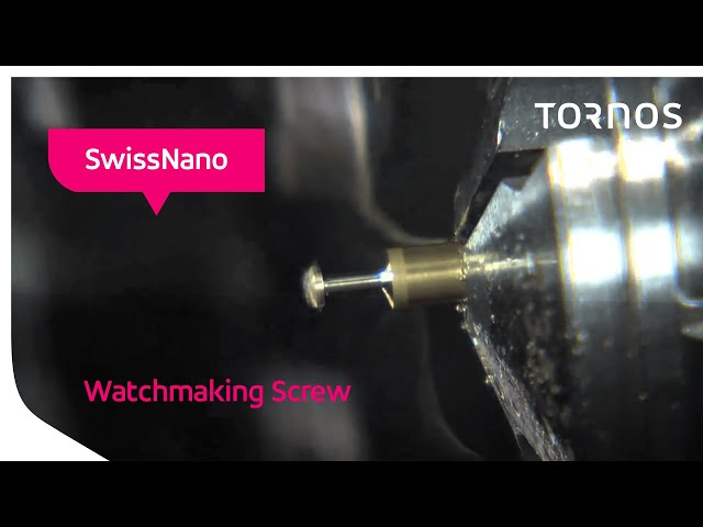 SwissNano - Watchmaking screw