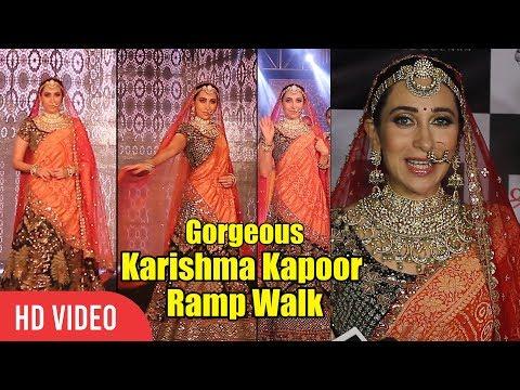 Beautiful Karishma Kapoor Walk For 2nd Edition Of The Wedding Juction Show