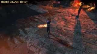 Path of Exile - Seraph Weapon Effect