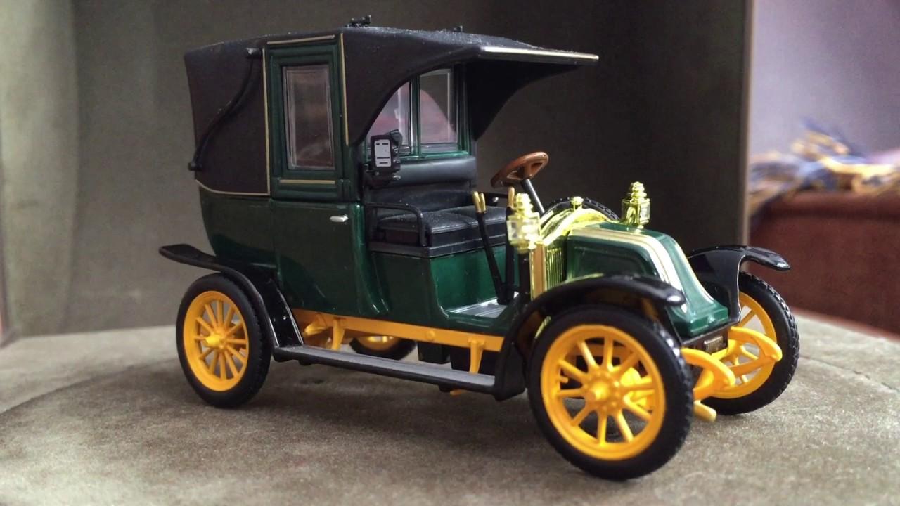 renault type ag taxi de la marne 1905 1 43 youtube. Black Bedroom Furniture Sets. Home Design Ideas