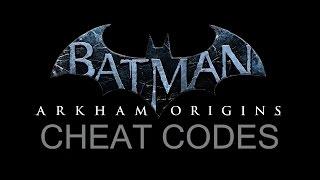 MOD; Batman; Arkham Origins; More Single Player Command Cheat Codes