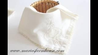 Vintage Linen | Lace Crochet | Wedding Table | Bridal Shower | Favors | Fine Linen