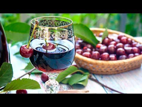 🍒ВИШНЕВАЯ НАЛИВКА, домашняя настойка из вишни на водке