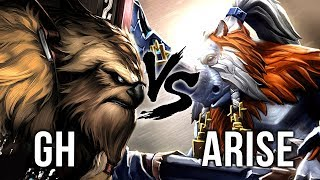 Ar1Se- BEST Magnus vs BEST Earthshaker & TI7 Champion GH - Battle of Legends - Dota 2 EPIC Gameplay