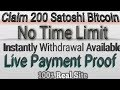 800 Bitcoin Satoshi Every 5 Minute Free Earn With Payment Proof by Wild tech