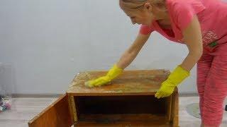 видео Как восстановить и обновить старую мебель своими руками?