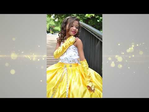 Desfile Traje de Gala Niñas de 5 a 12 años