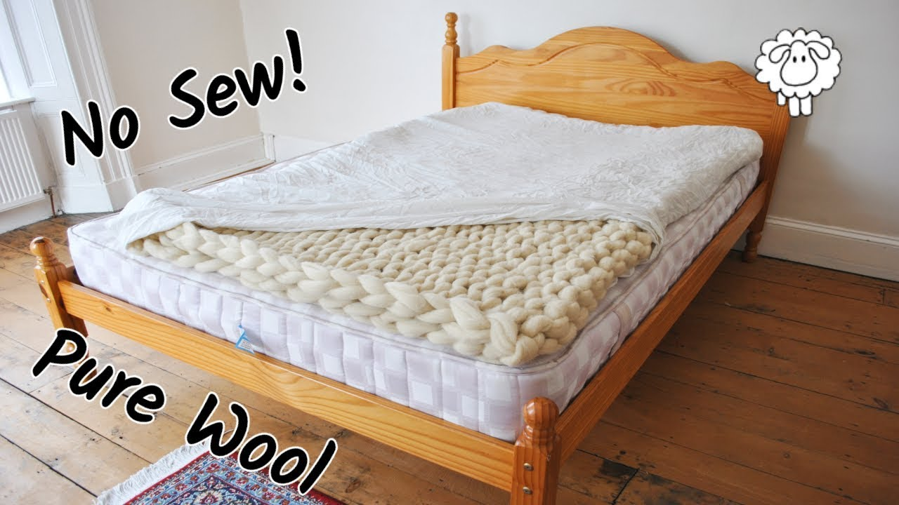 Wool Mattress Pad Reviews Diy Wool Mattress Topper Easy No Sew
