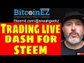 Trading Cryptocurrency Steem and Dash on Bittrex Exchange... Nevada Prohibits Blockchain Tax...