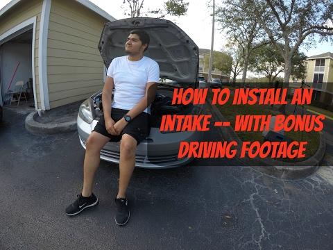 How To Install An Intake On A 2008 Hyundai Tiburon