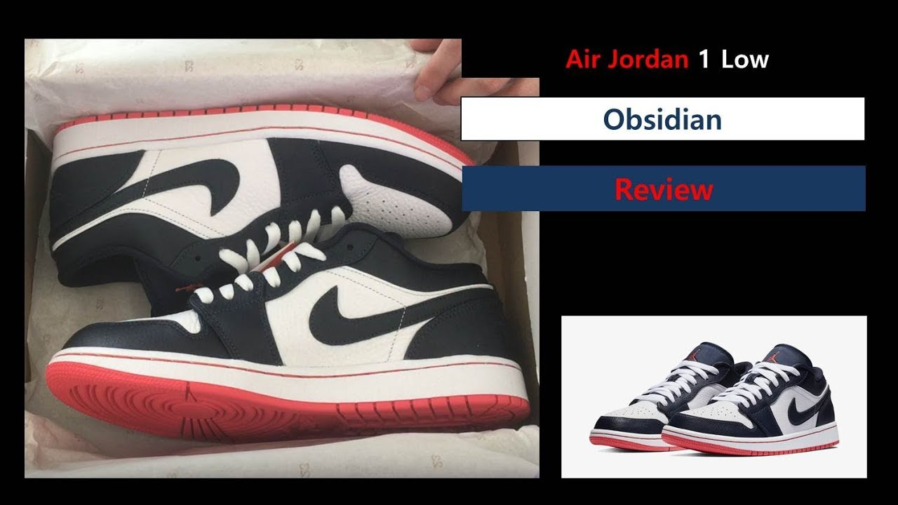 1ea3a36d110 낫포카리 조던1 로우 옵시디언 - Air Jordan 1 Low Retro Returns In Obsidian And Ember  Glow 553558-481