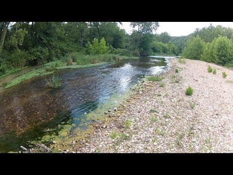 Little Piney Creek Fly Fishing