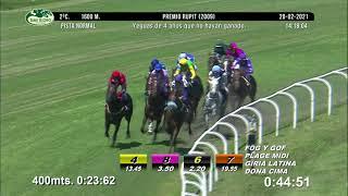 Vidéo de la course PMU PREMIO RUPIT 2009