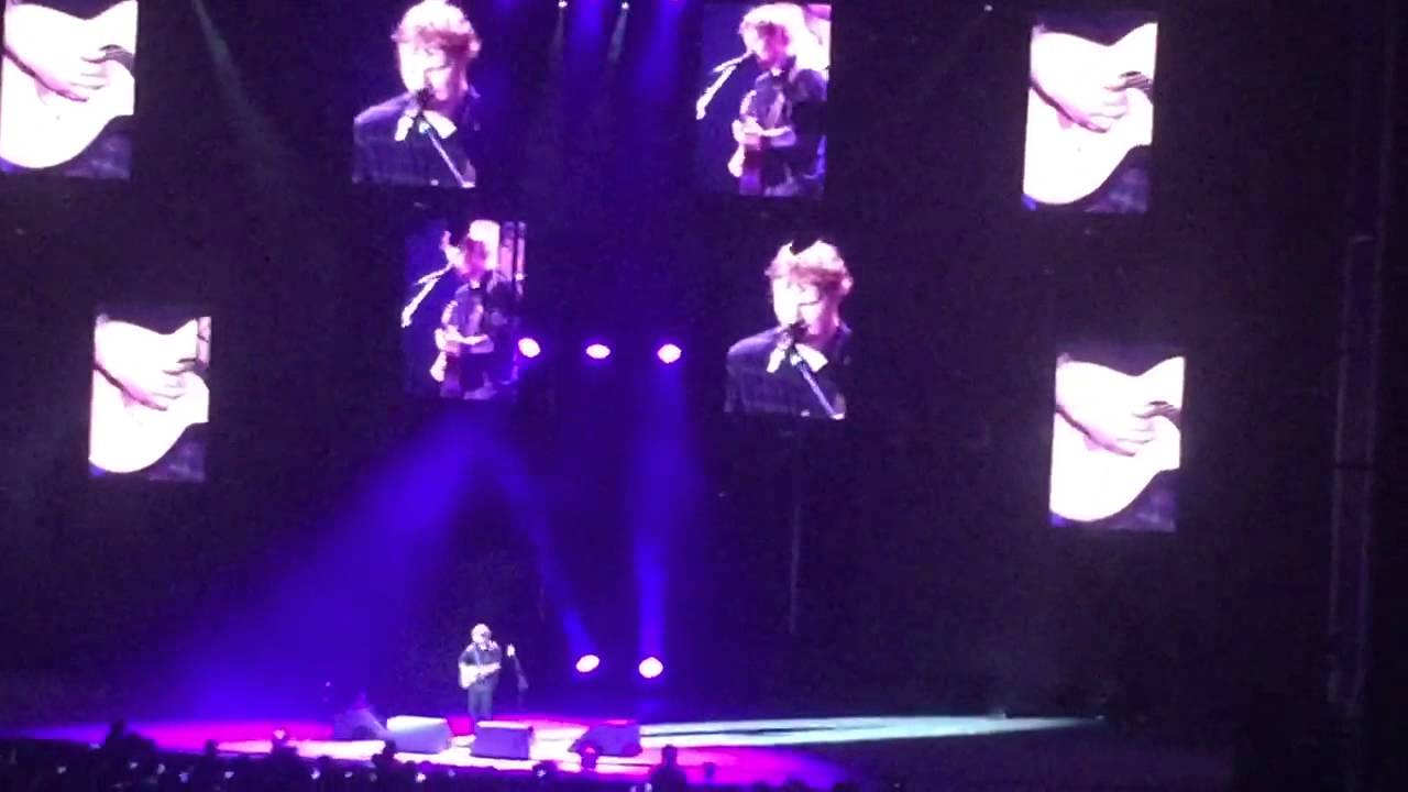 Ed Sheeran Give Me Love Live At Forest Hills Stadium Ny Youtube