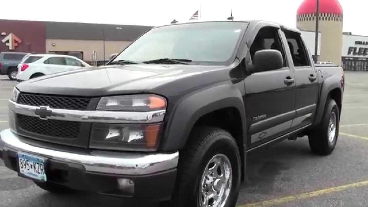 2004 Chevrolet Colorado Z71 News >> 2004 Chevrolet Colorado 4wd Ls Z71 2g140299b Youtube