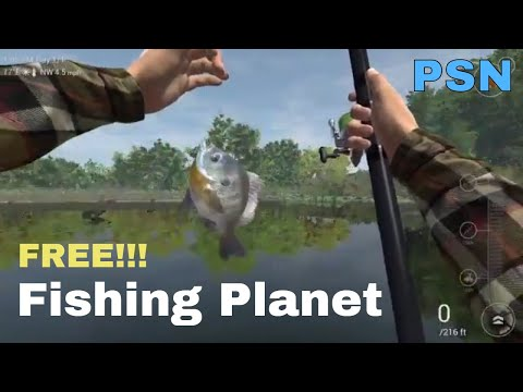 Fishing Planet : The ULTIMATE Fishing Simulator - PS4  ( Free Psn Game!!!! )