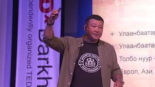 A Mongolian Identity:Who Are We | Ulziidelger Batbayar | TEDxDarkhan