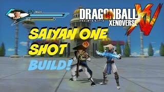 Dragon Ball Xenoverse- Super Saiyan One Shot Build- Ki Blast