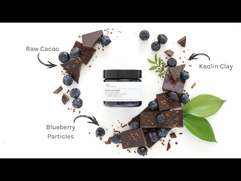 Evolve Organic Beauty | Radiant Glow Mask With Blueberry Particles