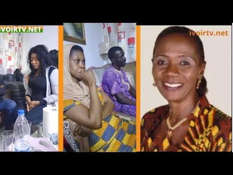 Décès de Angeline Nadié: L'émouvant témoignage d'Akissi Delta,en présence des enfants de la défunte