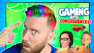 Gaming with Consequences: LOSER DYES HAIR Edition // K-City Family