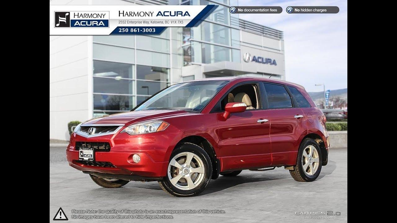 Acura RDX Base Harmony Acura Red AU Kelowna BC - Harmony acura