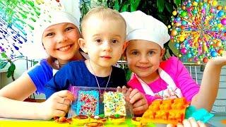 Рецепт для детей: делаем шоколадные монеты.