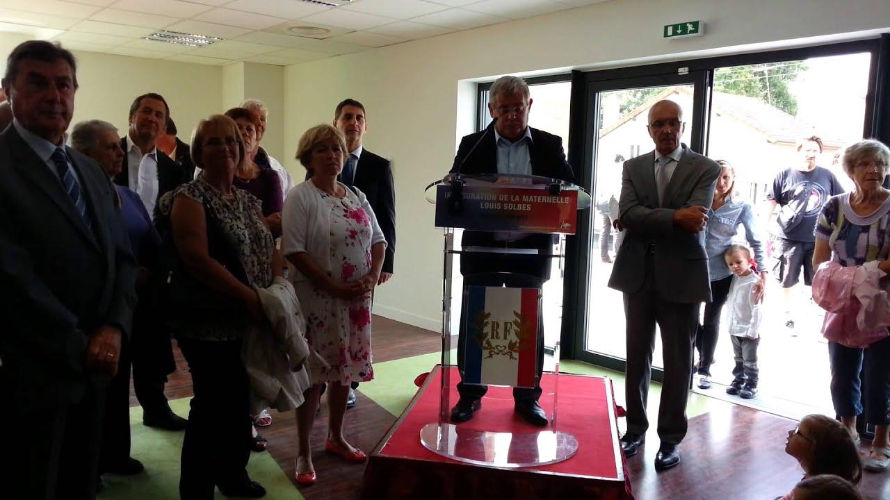 Inauguration école Louis Solbès à AulnaysousBois  discours de  ~ Cours D Arabe Aulnay Sous Bois