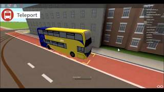 Roblox Uk bus simulator Route 4