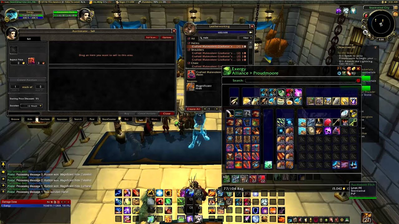 wow leatherworking gold making guide 2000 gold in 10 min wb rh youtube com WoW Jewelcrafting Leveling Guide 1-110 Leveling Guide WoW