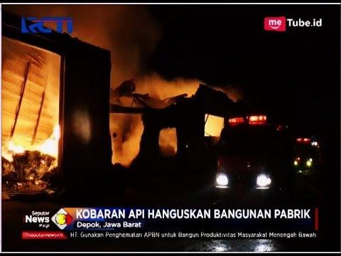 Ngeri!! 4 Jam Kebakaran Pabrik Payung di Depok Belum Padam - SIP 21/04
