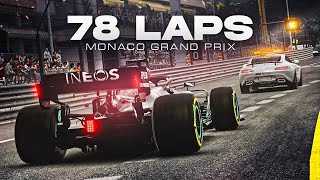 F1 2020 Gameplay Monaco 100% Race Lewis Hamilton