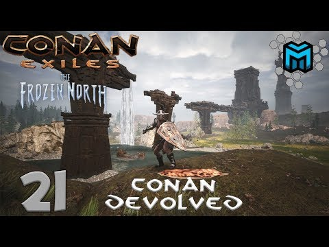 Conan Exiles- The Frozen North (Conan Devolved X03) EP21 | Metal Hut?